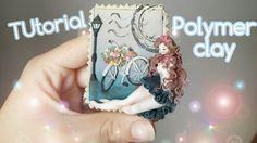 Tutorial polymer clay Chibi Vintage Girl
