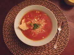 Chicken Tortilla Soup // recipe via Seventh + Pine.