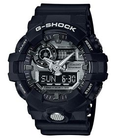 bba5cac2c51 Relógio Casio G-Shock GA-710-1A Relógios Preto