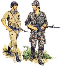 Portuguese Colonial Army Early war vs. Late War
