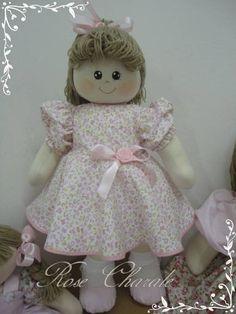 Boneca de pano | Rose Charale Bonecas de Pano | Elo7