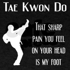 That pain you feel - Tae Kwon Do Shirt