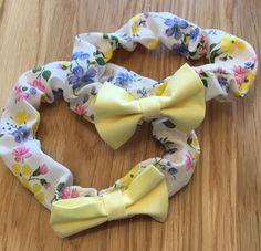 Handmade newborn headband by BeautifulDarlingUK on Etsy