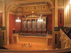 Sala Dvořák del Rudolfinum. Praga.