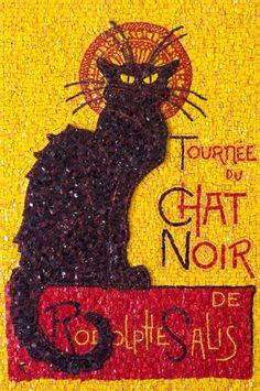 Le Chat Noir in mosaic