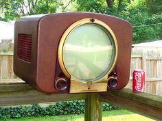 VINTAGE ZENITH TELEVISION TV SET | eBay