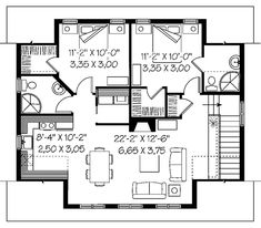 Babette Two-Car Garage Plan 113D-7505 | House Plans and More