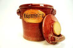 fermentation & pickling crock . ceramic pottery by OguskyCeramics, $99.00