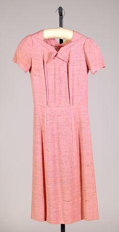 Elsa Schiaparelli pink dress from spring 1937.