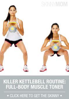 An all over workout using kettlebells.