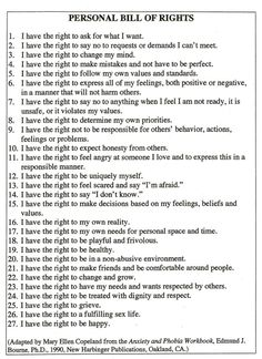 Personal Bill Of Rights Photo:  This Photo was uploaded by Chathouse. Find other Personal Bill Of Rights pictures and photos or upload your own with Phot...