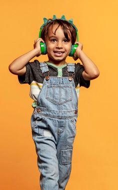 Τα παιδικά ακουστικά της iFrogz έχουν μοναδική σχεδίαση και προστατεύουν τα αυτιά των παιδιών με μέγιστη ένταση 85dB.  #geekersgr #eshop #products #retail #tech #accessories #gadgets #technology #premium #onlineshop #onlineshopping #onlinestore #smarthome #smarttechnology #smartkids #headphones #kids #wireless #girl #κορίτσια #ακουστικά #μουσικη #newgadgets #iFrogz #littlerockerz T Rex, Overalls, Tech, Pants, Kids, Style, Fashion, Catsuit, Trousers