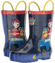 Josmo Kids Paw Patrol Rain Boot (Toddler/Little Kid) Boys Rain Boots, Boys Shoes, Girls Rolling Backpack, Paw Patrol Decorations, Baby Skunks, Paw Patrol Toys, Alex Toys, Diy Barbie Clothes, Kids Room Furniture