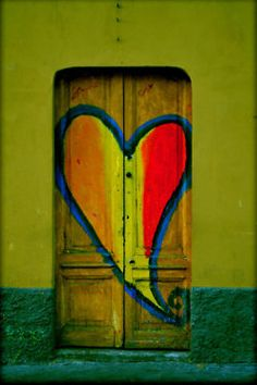 I heart this door.