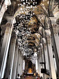 """""""White doves"""" by Michael Pendry, Holy Ghost Church, Munich - Germany"""
