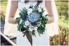 beautiful bridal bouquet -done by Funky Petals Sarah Jozsa Photography