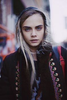 model cara delevingne - photo by Jacqueline Harriet on flickr