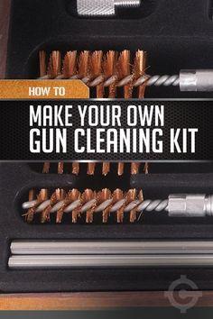 DIY Gun Cleaning Kit | Firearm Maintenance On A Budget by Gun Carrier at guncarrier.com/...