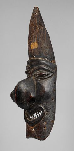 Mask (Dagak) [Kanak peoples, northern Grande Terre Island, New Caledonia] (1983.17) | Heilbrunn Timeline of Art History | The Metropolitan Museum of Art