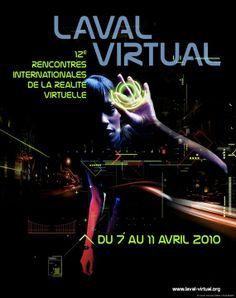 Affiche Laval Virtual 2010