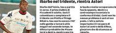 SCRIVOQUANDOVOGLIO: CAGLIARI:IBARBO NEL TRIDENTE,RIENTRA ASTORI (22/09...