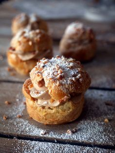 Cabbage with cream praline style Paris-Brest Best Dessert Recipes, Sweet Recipes, Creme Dessert, Mousse, French Dishes, Choux Pastry, Eclairs, Mini Desserts, Coco