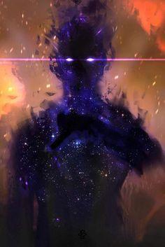 Dark Fantasy Art, Fantasy Demon, Digital Art Fantasy, Space Fantasy, Fantasy Concept Art, Fantasy Character Design, Character Inspiration, Character Art, Yoga Inspiration