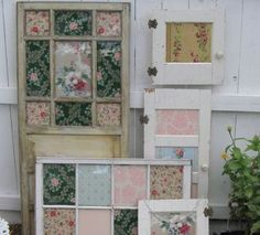 Vintage Wallpaper Meets Old Doors and Windows