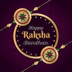 Rakhi Festival, Happy Rakshabandhan, Krishna Pictures, Raksha Bandhan, Vector Free, Concept, Watercolor, Christmas Ornaments, Holiday Decor