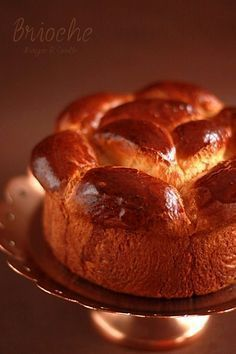 Brioche without Kneading or Brioche Inratable ! Brioche Bread, Thermomix Desserts, Ice Cream Pies, Pan Dulce, Our Daily Bread, Bread Cake, Bread And Pastries, Sweet Bread, Baking Recipes