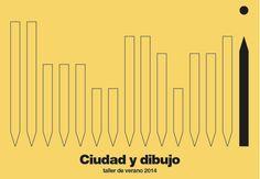 Ciudad y dibujo · Taller de verano 2014