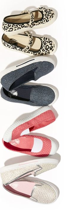 Slip-on sneakers are a must-have for your on-the-go girl! She won't miss a beat with this comfy option!