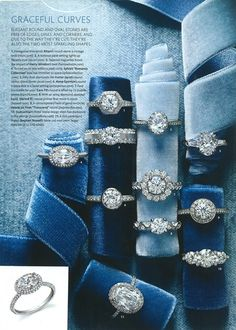 engagement rings... I'll take 1 of each! :-)