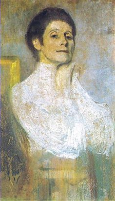 Self Portrait, Olga Boznańska