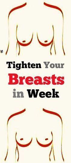tighten your sagging breasts in week