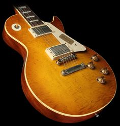 "Gibson Custom Shop Collector's Choice #17 1959 Keith Nelson Les Paul ""Louis"" Electric Guitar Nelson Dirty Lemon"