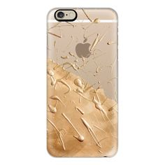 Casetify iPhone 6 Plus/6/5/5s/5c Case - Rose Gold Rain (transparent) ($40) ❤ liked on Polyvore featuring accessories, tech accessories, electronics, cases, iphone, phone, phone cases, iphone case, transparent iphone 5 case and iphone 5 cover case