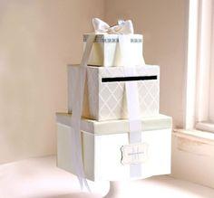 Geldgeschenke zur Hochzeit mit rechteckigen Boxen