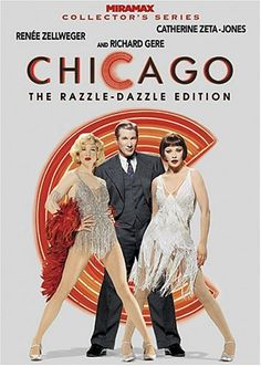 Richard Gere, Renée Zellweger, and Catherine Zeta-Jones in Chicago Iconic Movie Posters, Iconic Movies, Old Movies, Film Posters, Chicago Movie, Chicago Musical, Movie Songs, I Movie, Sean Mccann