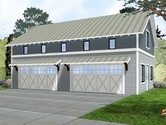 96 Best 4+-Car Garage Plans images in 2019 | Garage ideas, Garage ...