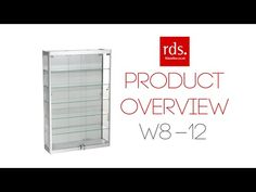 W8-12 Wall Mounted Cabinet - Aluminium - Wall Display Cabinets - Display Cabinets