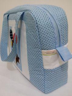 Bolsa de Maternidade em tecido