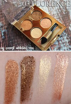 MILANI Fierce Foil Eyeshines - My Newest Addiction: multidimensional pearlescence, creamy gloss!
