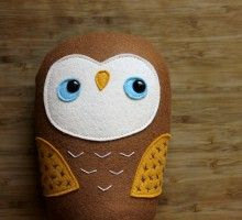 Acorn the woodland owl – Made to Order