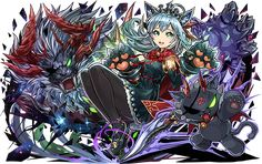 Puzzles And Dragons, Chara, Fan Art, Halloween, Amazing Art, Inspiration, Anime Art, Twitter, Biblical Inspiration