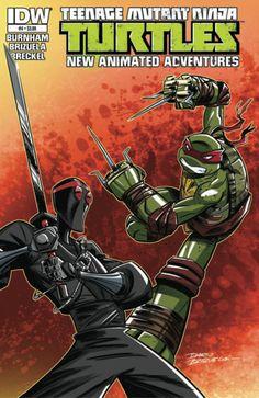 Teenage Mutant Ninja Turtles New Animated Adventures #4