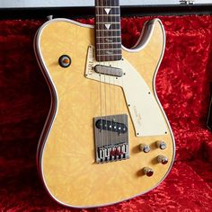 Selling a Super Rare Girl brand Chris Larsen guitar. It is a telecaster that is modeled after old 50's diner settings. Super low serial number. Non original pickups. Comes with the original case and sounds killer. Has an amazing rosewood fretboard and a killer v neck. Super resonant and all aroun...
