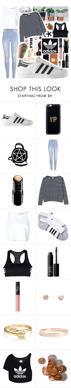 """""""💎Outfit Goals💎"""" by lexi-loves-fashion ❤ liked on Polyvore featuring adidas, Casetify, Mimco, Kill Star, H&M, Maybelline, Monki, Carolina Herrera, NARS Cosmetics and Take-two"""
