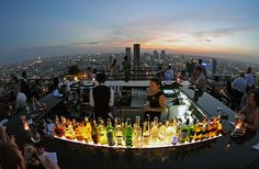 rooftop party..