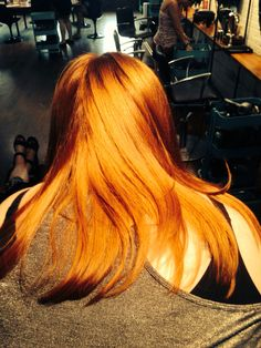 Orange is the new blonde. Painted by Joseph Mullen